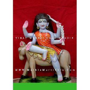 Kalratri Marble Statue