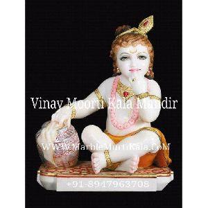 Laddu Gopal Marble Statue