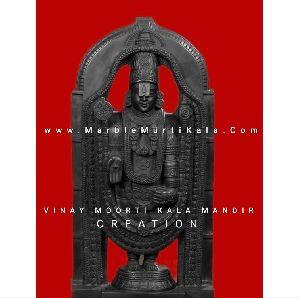 Lord Venkateswara Marble Statue