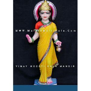 Maa Brahmacharini Marble Statue