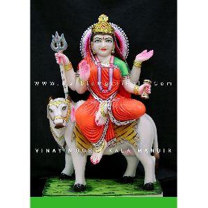 Mahagauri Marble Statue