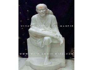 Makrana Marble Shirdi Sai Baba Statue
