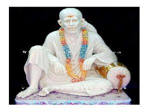 Marble Dwarka Sai Baba Statue