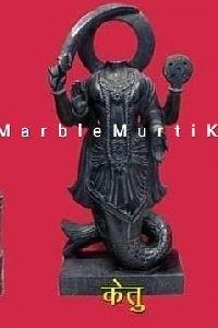 Marble Ketu Navagraha Statue