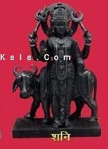 Marble Shani Navagraha Statue