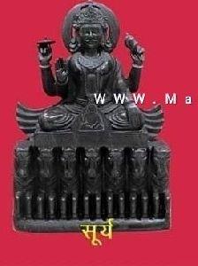 Marble Surya Navagraha Statue