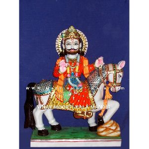 Ramdev Baba Marble Moorti