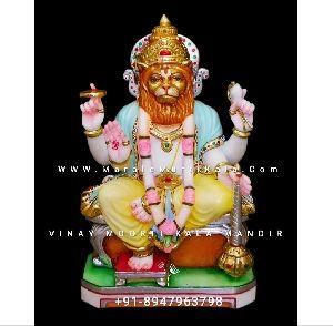Narsingh Bhagwan Marble Murti