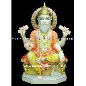 Vishwakarma Marble Statue