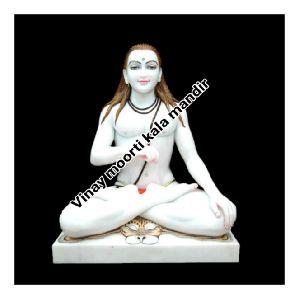 White Marble Balak Nath Ji Statue