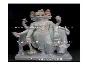 White Marble Dattatreya Murti Manufacturers