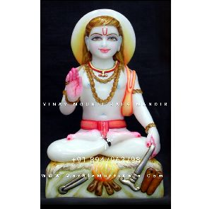White Marble Stone Baba Balak Nath