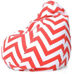Striped Bean Bag