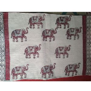 Elephant Printed Rug