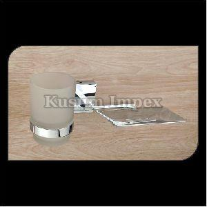 Glass Tumbler & Soap Dish (ST-TH&SD-016)