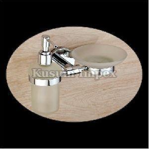 Liquid Dispenser Holder & Soap Dish (SL-LD&SD-016)