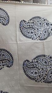 2004 Blue Pottery Bedspread