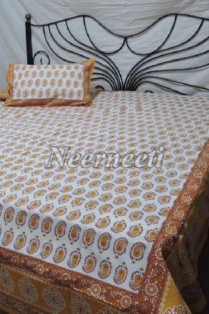 1005 Printed Cotton Bedspread