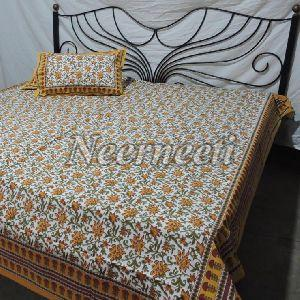 1006 Printed Cotton Bedspread