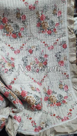 1011 Embroidered Cotton Bedspread