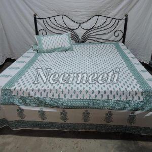 1016 Stylish Cotton Bedspread