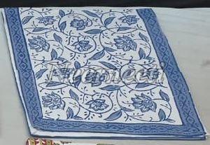 15011 Printed Linen Table Runner