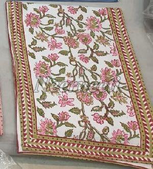 15014 Printed Linen Table Runner