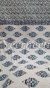 2005 Blue Pottery Bedspread
