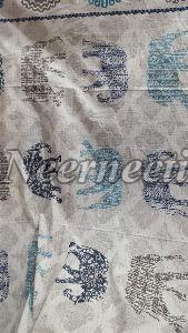 2006 Blue Pottery Bedspread