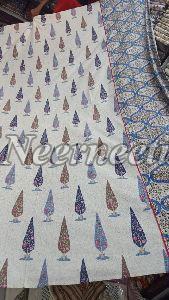 2007 Blue Pottery Bedspread