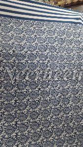 2008 Blue Pottery Bedspread