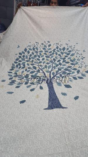 2012 Printed Pottery Bed Cover