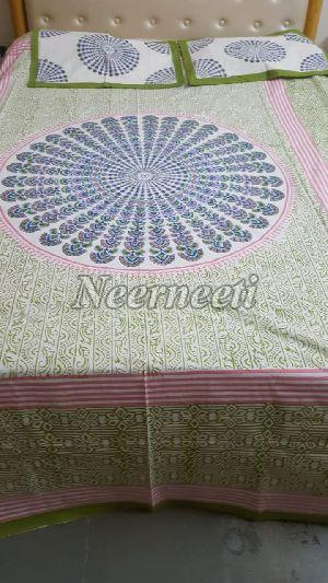2019 Printed Cotton Bedspread