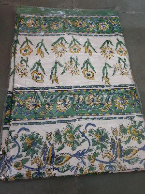 3014 Embroidered Cotton Bed Cover