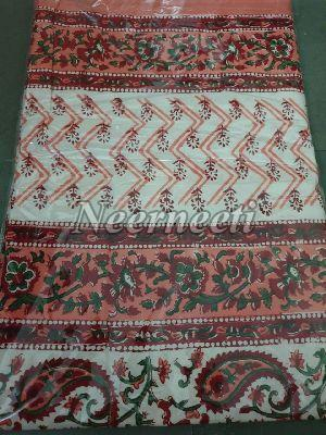3015 Embroidered Cotton Bed Cover