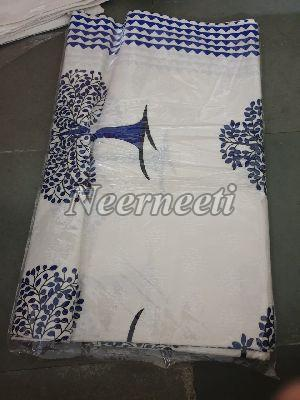 3016 Printed Cotton Bed Cover