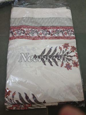 3017 Embroidered Cotton Bed Cover