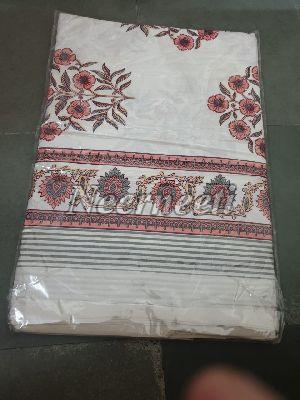 3018 Embroidered Cotton Bed Cover