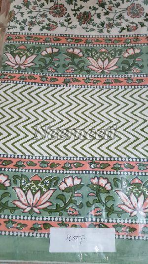 3020 Printed Cotton Bed Cover