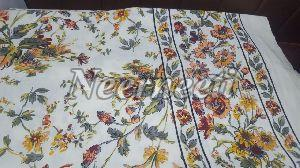 3022 Printed Cotton Bed Cover