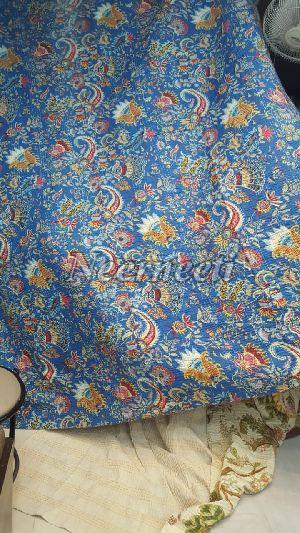 4004 Printed Kantha Bed Cover