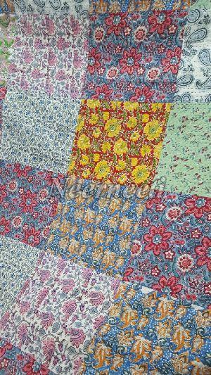 4007 Reversible Kantha Bed Cover