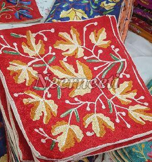 6008 Kashmiri Embroidered Cushion Cover