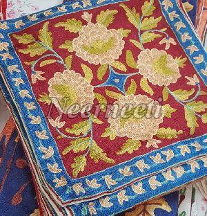 6009 Kashmiri Embroidered Cushion Cover