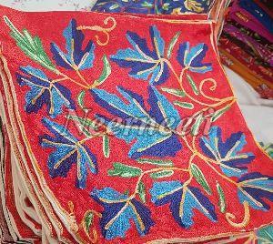 6012 Kashmiri Embroidered Cushion Cover