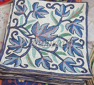 6013 Kashmiri Embroidered Cushion Cover