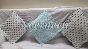 blue cushion cover set of 3 item code 6006