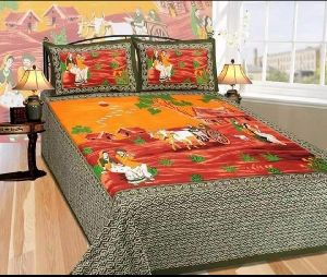 Ethnic Cotton Bed sheet