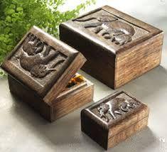 Mango Wood Box Set