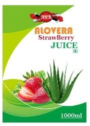 Aloe Vera Strawberry Juice